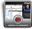Play Managing storage space and digital content with Drobo Demo