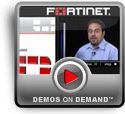 Play FortiAnalyzer reporting appliance Demo
