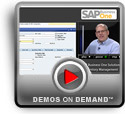 Play SAP Business One Solution Inventory Management