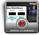Play Drobo workflow for video professionals Demo